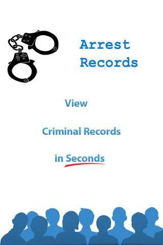 Arrest Records background check public records
