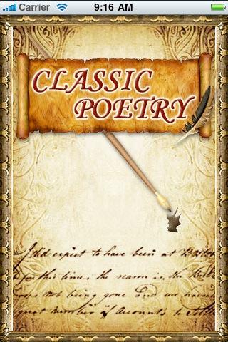 Classic Poetry poetry