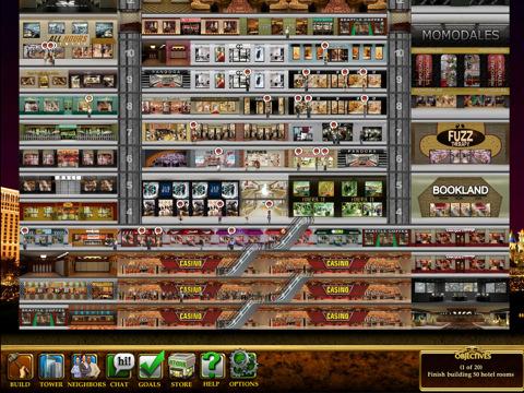 vegas tower app game