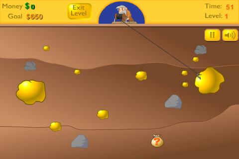 free gold miner