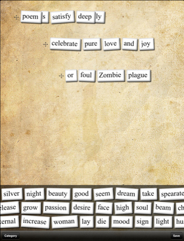 Poetry Magnets poetry