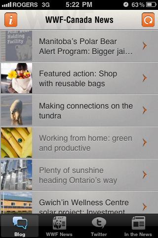 WWF-Canada News canada news