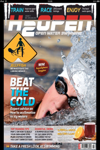 H2Open Magazine swimming world magazine
