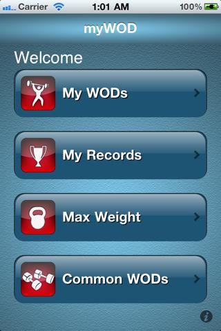 myWOD CrossFit