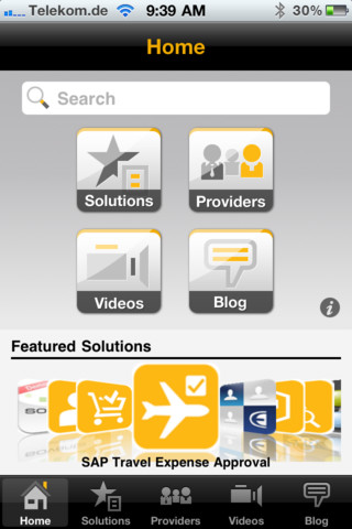 SAP Mobile Apps spainophile