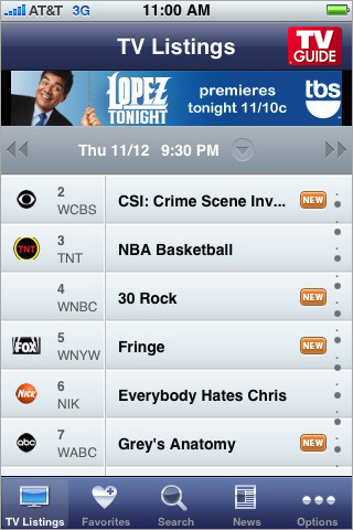 TV Guide Mobile