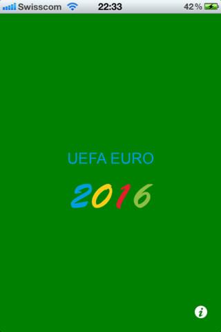 EM 2016 Countdown holidays 2016