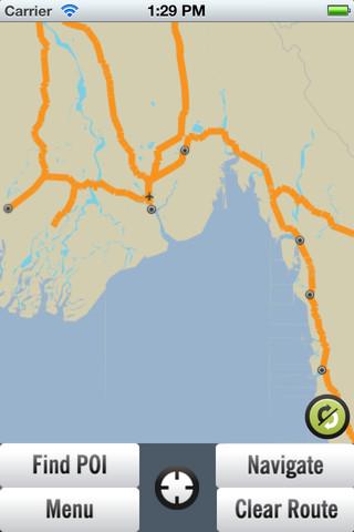 Myanmar GPS Map myanmar map