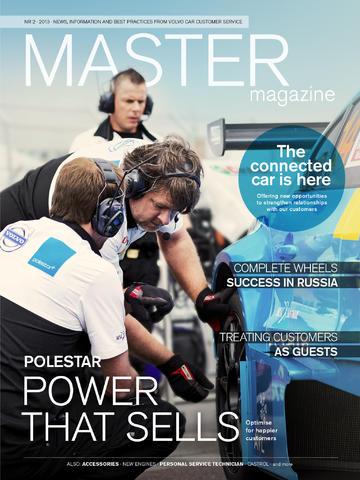 Master Magazine volvo s90