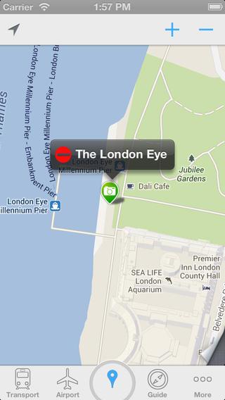 iLondon(Offline GPS+ Offline Maps+ Transport Maps&Airport Maps+ Travel Guide) offline maps download