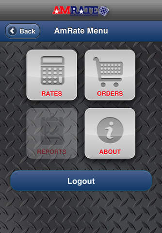 AmRate Freight Optimizer Mobile freight trucking business