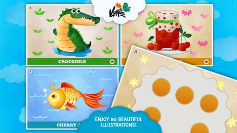 Fingerfun Multilingual - Kids Motor Skills Development, Preschool Educational Game for Toddlers preschool children development