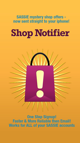 Shop Notifier