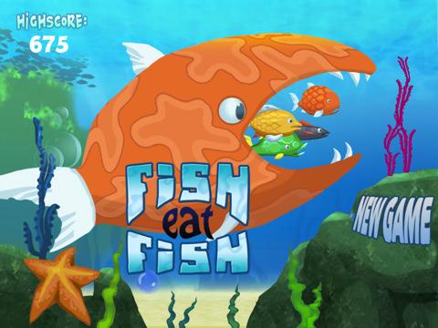 Fish eat fish hd app for ipad iphone games for Fish eat fish game