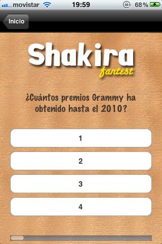 Shakira FanTest