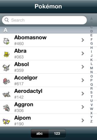 Pokemon pok 233 dex app for ipad iphone entertainment