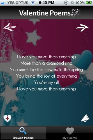 Valentine Poems valentine s day poems