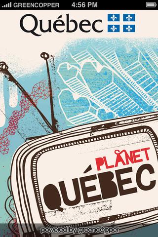Planet Quebec 2012 quebec flag
