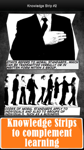 description of business ethics