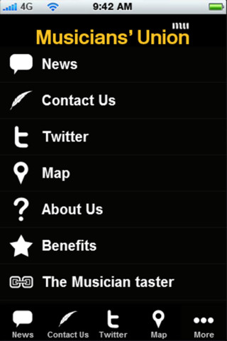 Musicians` Union famous musicians