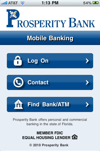 Prosperity Bank App For Iphone