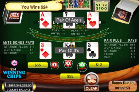 Free three card poker download comment avoir de la chance au jeu de hasard
