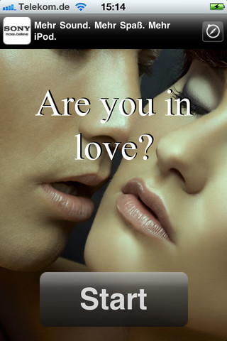 Are you in love? relationship questions