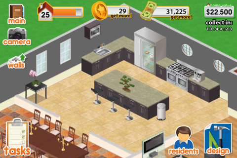 Design this home app for ipad iphone games app by app Create a house game