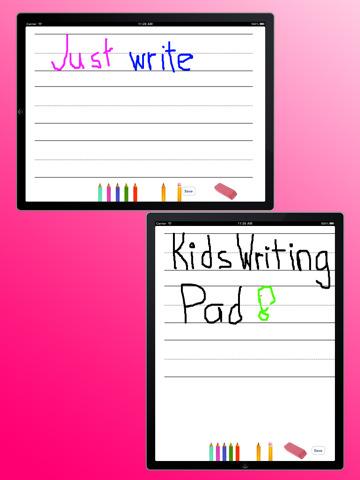 Kids Writing Pad