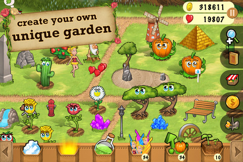 My Little Garden 1 1 App For Ipad Iphone Games App By