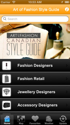 Art of Fashion Style Guide canadian prairies map