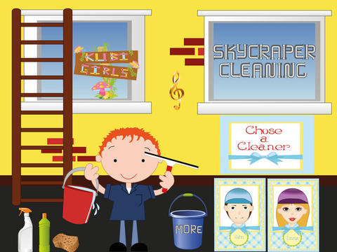 Skyscraper Cleaning - Cleaning Game types of cleaning agents