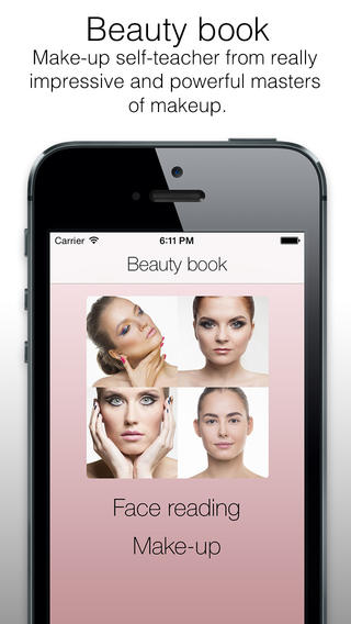 Beauty - makeup tutorial, visage trainer, trendy makeover styles, beautiful looks, shiny personality, all about your face, beauty trends, makeup tutorial, beauty tips, pocket make-up artist, trendy looks, step-by-step visage tutorial, all about make-up. beauty makeup