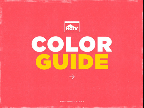 HGTV Color Guide hgtv shows