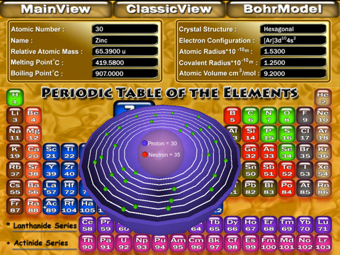 3d periodic table app ipad periodic table 3d app for ipad iphone medical urtaz Image collections