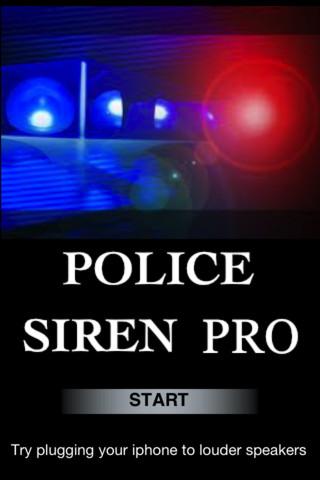 Police Siren Pro