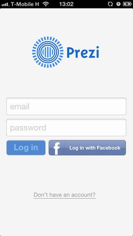 Prezi for iPhone
