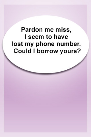 Funny dating site pick up lines