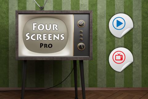 Four Screens Pro projectors screens