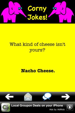 Best corny joke(s) ever? - Yahoo! Answers