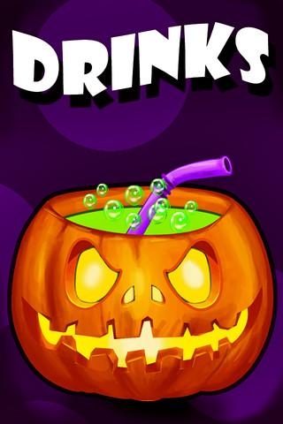Halloween drinks games halloween drinks for Tap tap fish halloween event