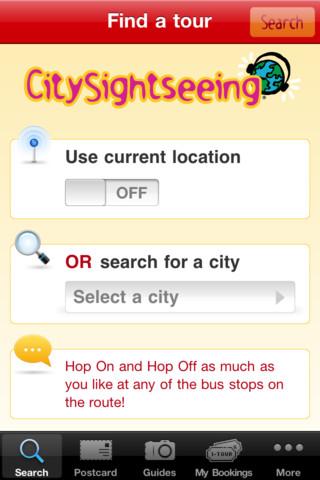 City Sightseeing city sightseeing bus