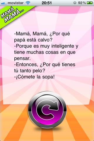 chistes mama mama: