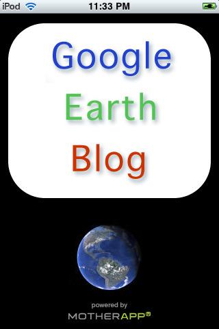 Google Earth Blog earth day network