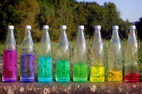 Water Bottle Xylophone 112