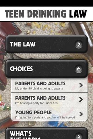 Teen Drinking Law