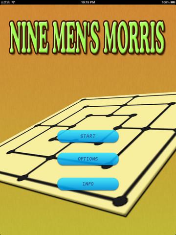 A Nine Men`s Morris