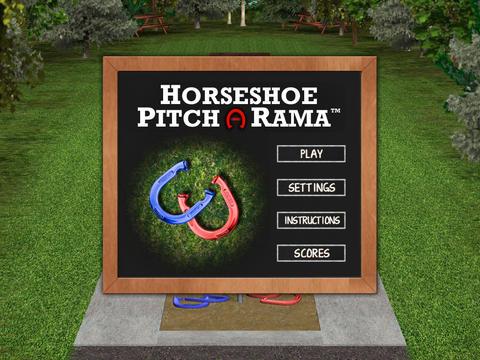 Horseshoe Pitch-A-Rama horseshoe