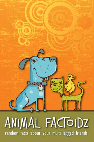 Animal Factoidz Lite (free animal facts!) facts on animal welfare