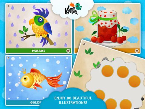 Fingerfun HD Multilingual - Kids Motor Skills Development, Preschool Educational Game for Toddlers preschool children development
